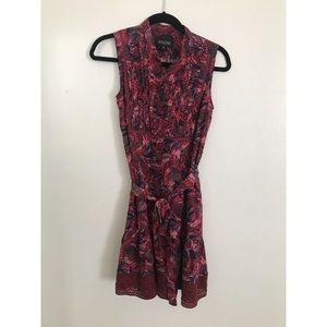 100% Silk Saloni Dress